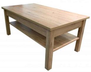 Dřevěný konferenční stolek san remo 110x60cm