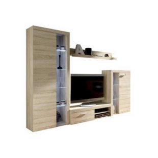 Obývací stěna v minimalistickém stylu