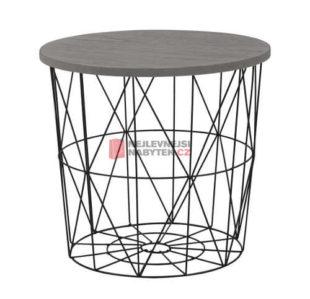 Odkládací stolek s úložným prostorem