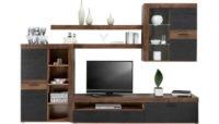 Praktická obývací stěna v moderním designu