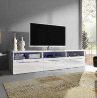 Moderní TV stolek RTV 2 s LED osvětlením