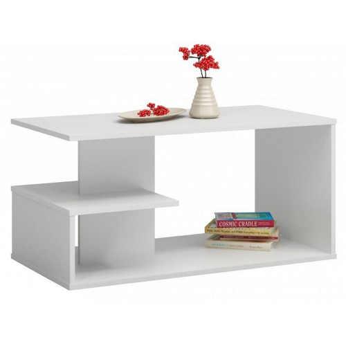 Konferenční stolek v provedení bílá mat