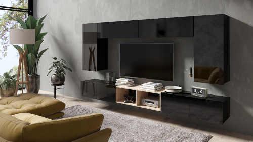 Obývací stěna v moderním designu