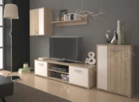 Obývací stěna vhodná do menšího prostoru