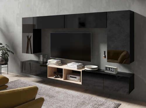 stěna do obývacího pokoje