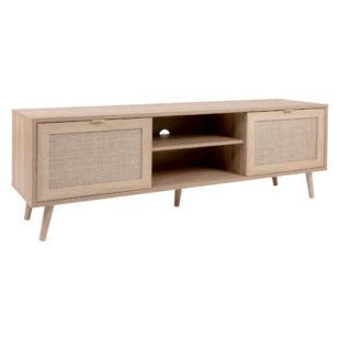 TV stolek s úložným prostorem v módním dekoru