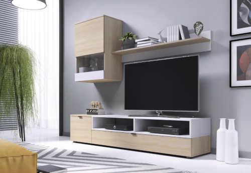 obývací stěna vhodná i do menšího prostoru