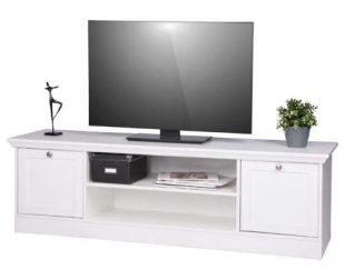 Bílý televizní stolek Provence styl