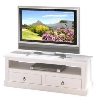 Bílý TV stolek Provence
