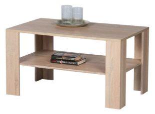 Levný dřevěný konferenční stolek dub sonoma