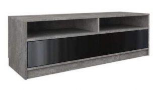 Levný televizní stolek betonový vzhled