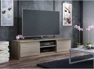 TV stolek šíře dub sonoma 140 cm