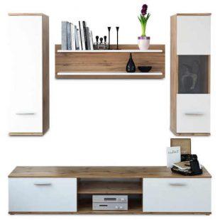 Jednoduchá obývací stěna v moderním designu